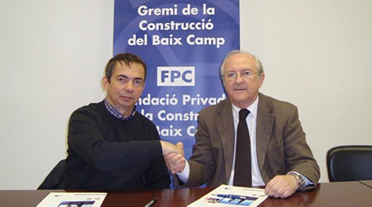 Conveni entre Endesa i el Gremi de la Construcció del Baix Camp per millorar la comunicació i el subministrament elèctric
