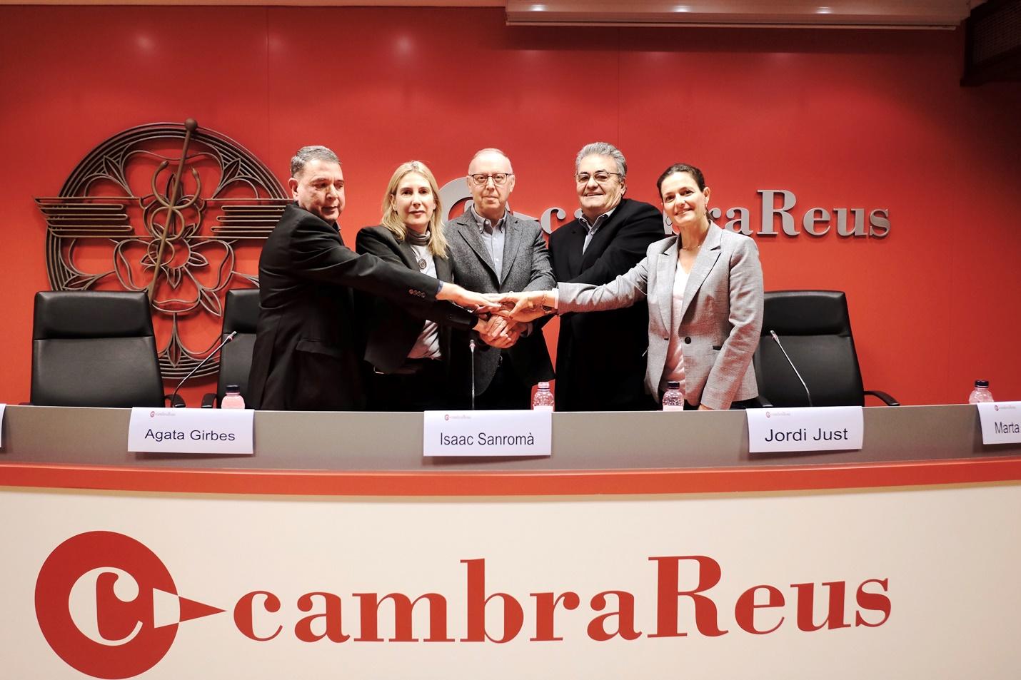 Jordi Just i Àgata Girbes pacten una candidatura de consens per la Cambra de Reus